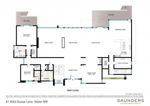 41 Wild Goose Lane First Floor (floor plan)