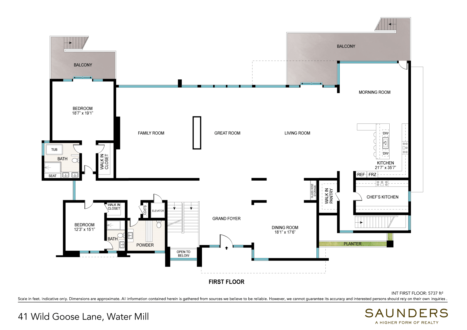 41 Wild Goose Lane First Floor (floor plan)