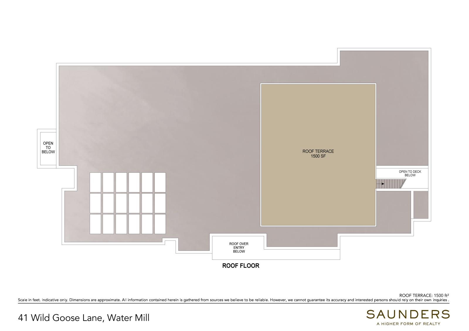 41 Wild Goose Lane Roof (floor plan)