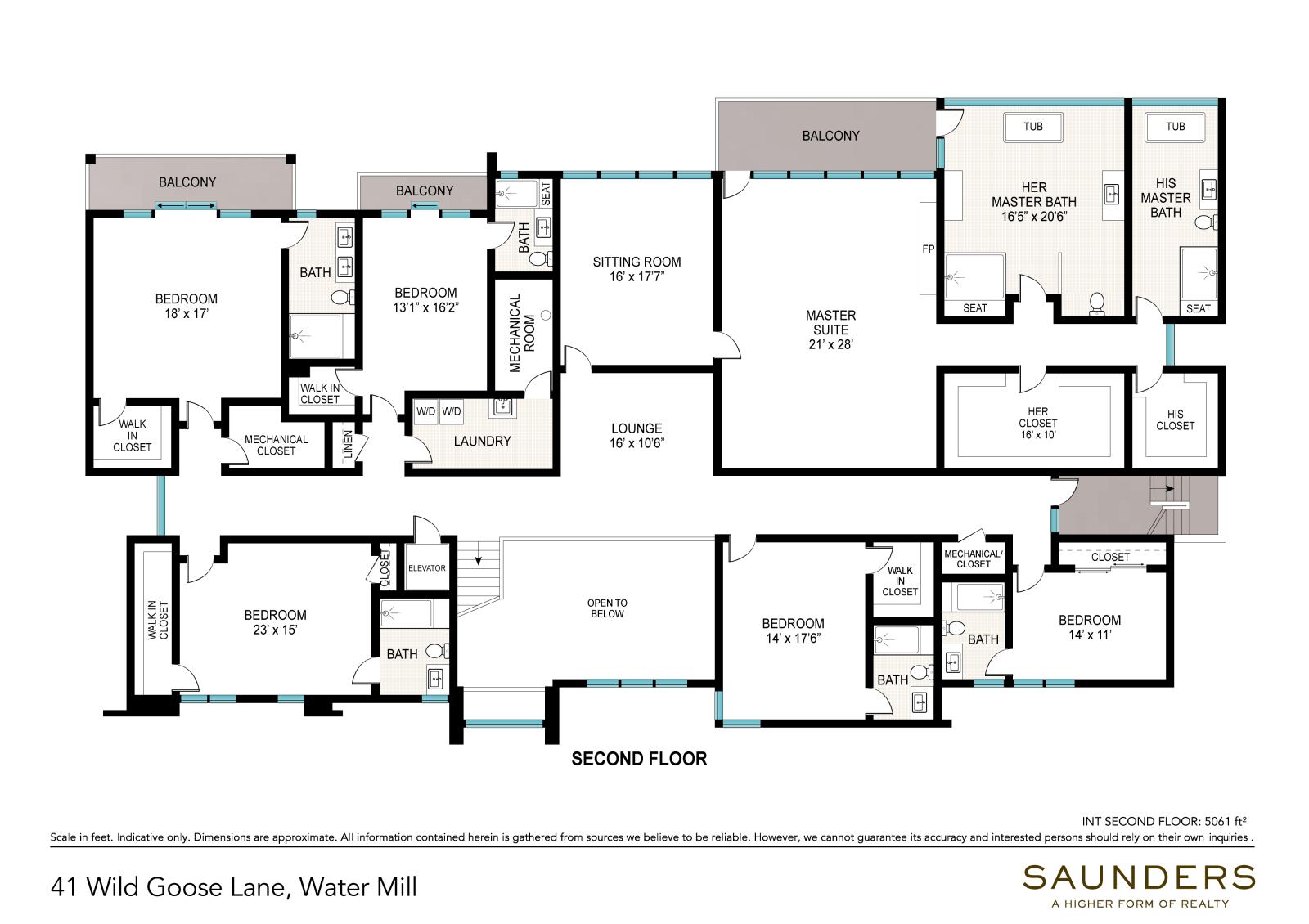 41 Wild Goose Lane 2nd Floor (floor plan)